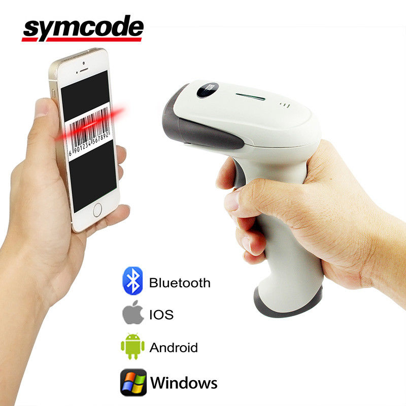 Multi Function CCD Barcode Scanner / Bluetooth Wireless Scanner Low Power Consumption