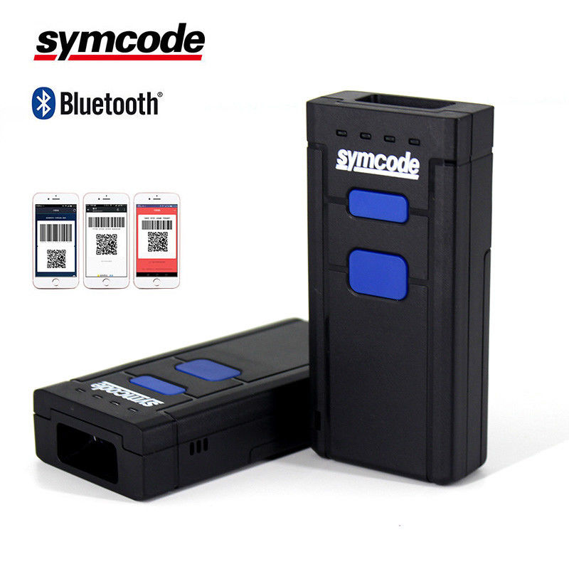 Small Case Wireless Bluetooth Barcode Scanner 512KB Memory Superior Performance