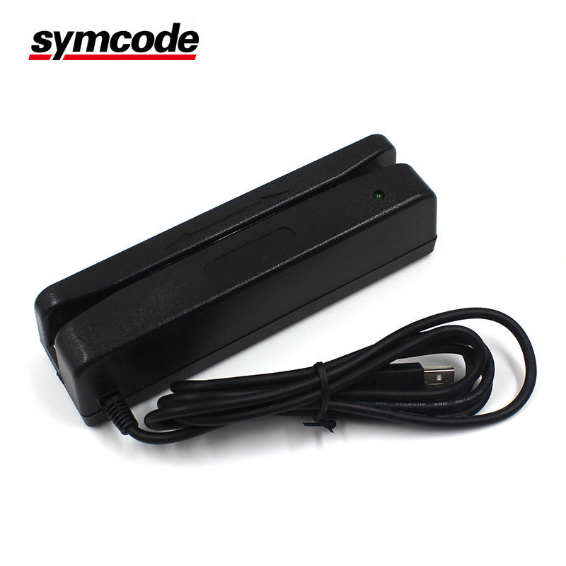 Universal Barcode Magnetic Stripe Reader / Msr Card Reader Writer Plug And Play